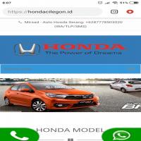 jasa website Https://hondacilegon.id