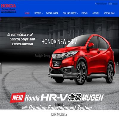 jasa website http://hondabanten.id