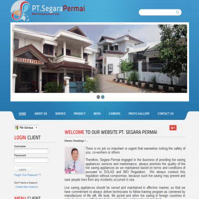 jasa website SEGARAPERMAI.COM