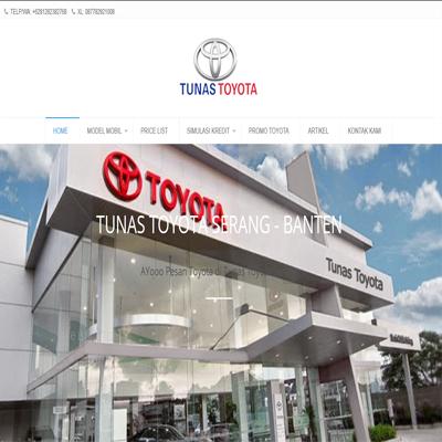 jasa website toyota-serang.id